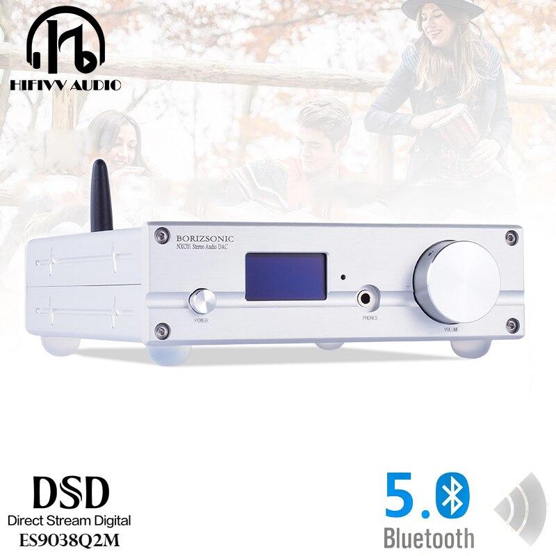 DemüTigen Hifi Dac Decoder Player Es9038q2m Usb Eingang Decoder Xmos U208 Chip Empfangen Bluetooth 5,0 Unterstützt Dsd512 Digital-analog-wandler Unterhaltungselektronik