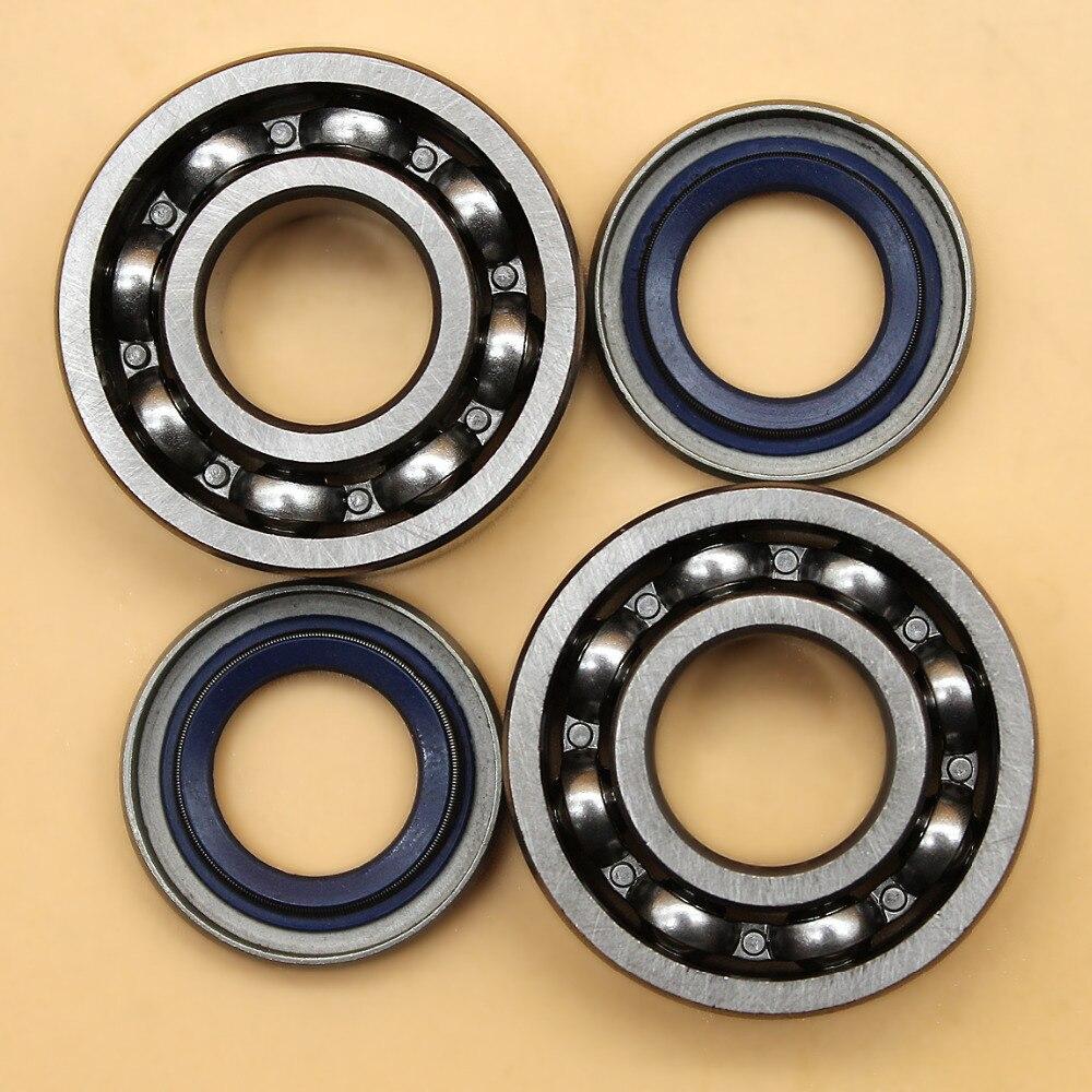 Crankshaft Ball Bearing Oil Seal Set For HUSQVARNA 254 257 262 357 359 51 55 Chainsaw Parts