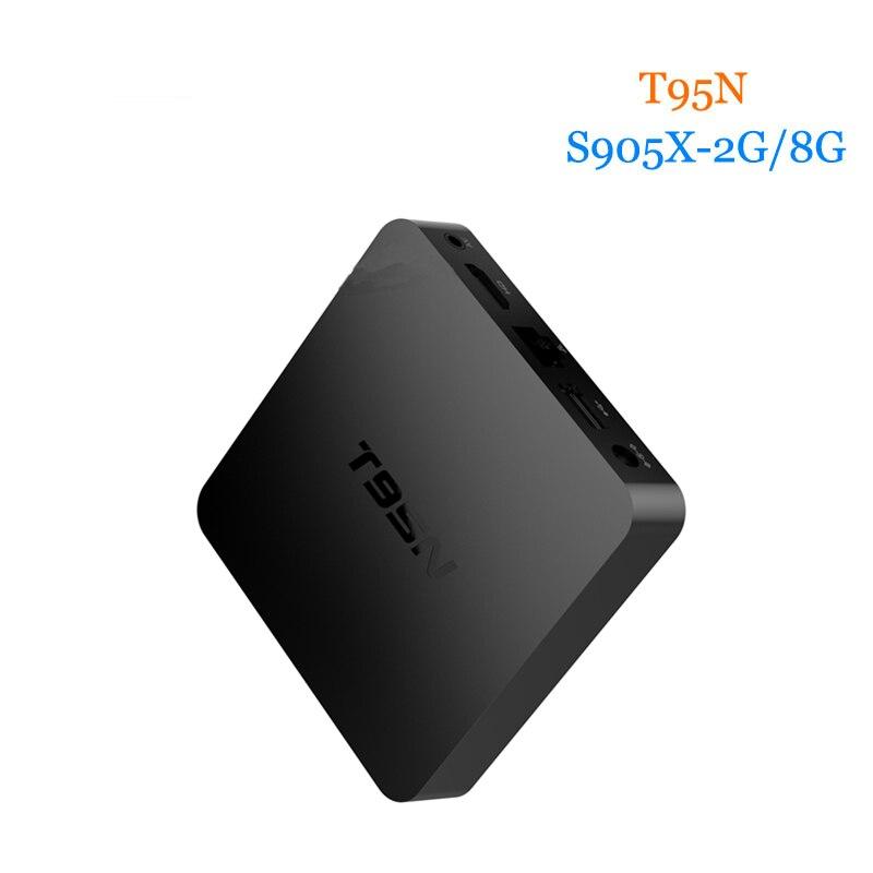 WeChip T95N 2G 8G Quad Core Android 6 0 TV BOX S905X Kodi 16 0