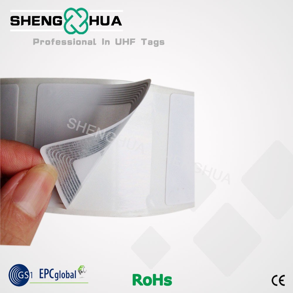 10pcs/pack Proximity RFID HF NFC Label Roll Sticker 13.56MHz RFID Passive Book Tag For Library Management