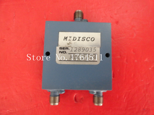 [BELLA] A Two MIDISCO Power Divider MDC2224 1-2GHz SMA