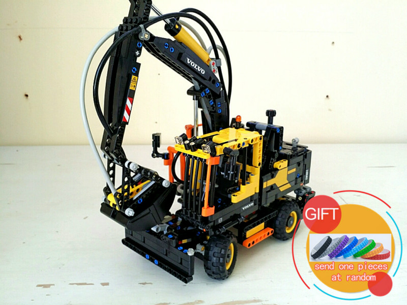 20023 1166Pcs Technical Ultimate Series The Ew160e excavator set Compatible with 42053 Building Blocks toys new technical excavator duplo toys large