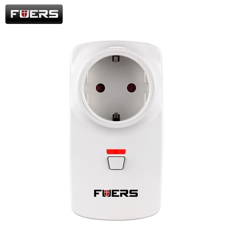 Fuers US/AU/EU/UK Wireless Smart Socket Plug Switch App Control Security Alarm Sockets 433MHz For G90B G90B Plus Alarm System