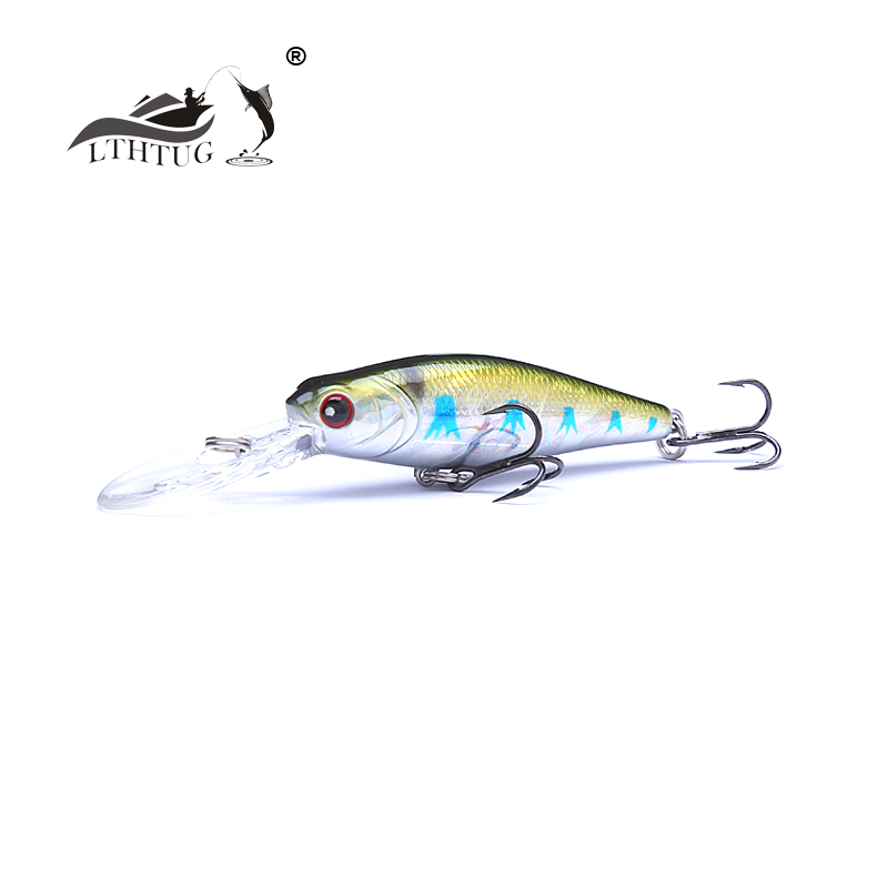 New Pesca Peche Japan Design Isca Artificial Bass Bait Hard Fishing Lure 60mm 7.8g Floating Minnow Far Casting Fishing Wobblers