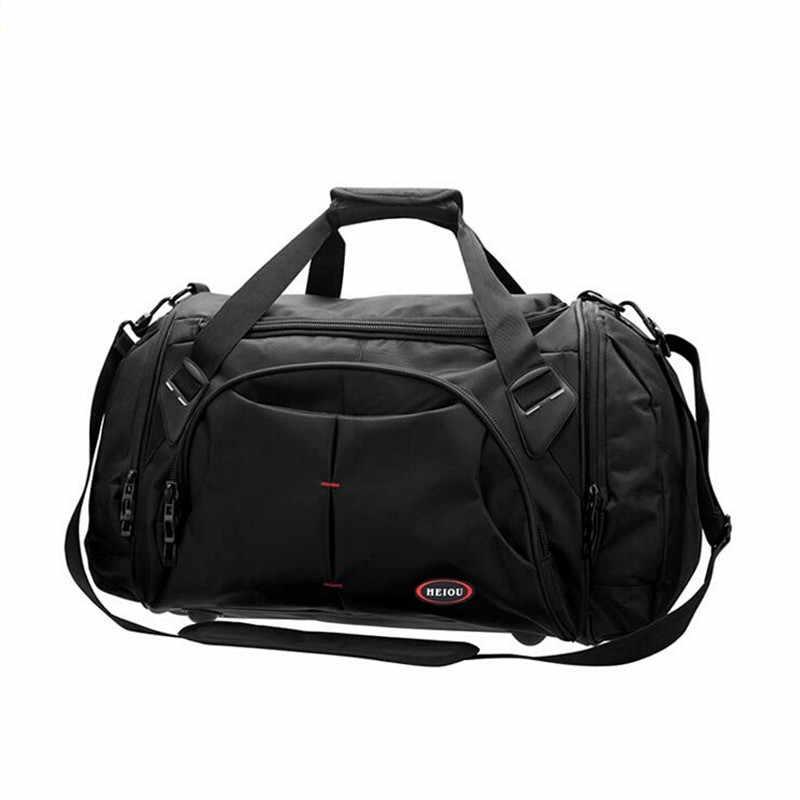 Новое поступление, мужские дорожные сумки большой вместимости, женские багажные дорожные сумки, нейлоновые дорожные походные водонепроницаемые сумки Bolso