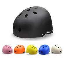 Kids Adults Helmet 11 Holes ABS Protect Helmet Cycling Scooter Ski Skate Skateboard