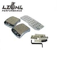 LZONE RACING Brake Foot MT Pedals For DC2 EK9 DC5 EG6 DC5 EK4 S2000 Mugen Pedal