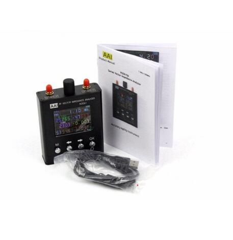 2018 New English verison N2061SA UV RFID Vector Impedance Antenna Analyzer 1.1MHz-1.3GHz Upgraded for N1201SA Antenna Analyzer