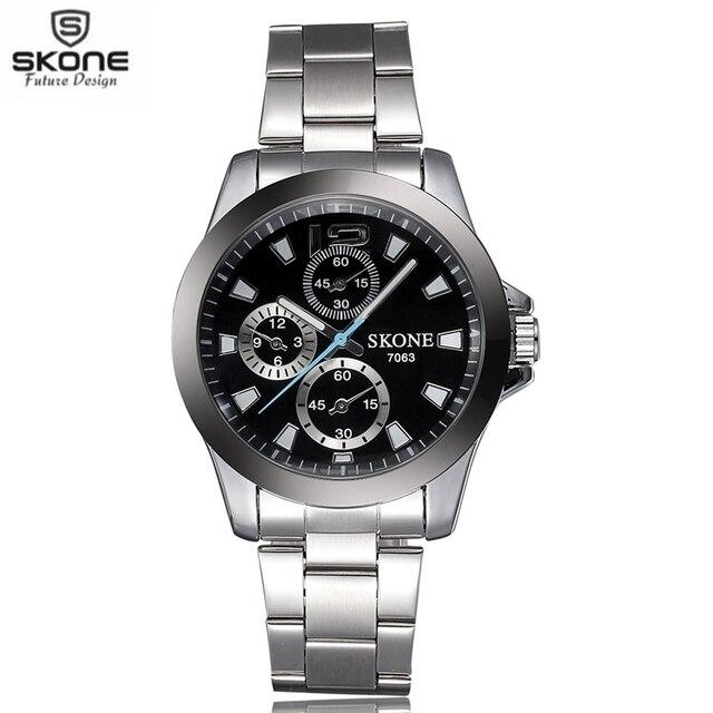 SKONE Brand Fashion Men's Quartz Wristwatches  for Lovers' Sports Watches Women Luminous Watch Montre Homme Relogios Masculinos