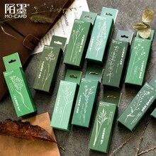 XINAHER sellos de goma de madera para decoración de hojas y plantas de bosque Vintage, para scrapbooking, papelería, bricolaje, sello estándar para manualidades