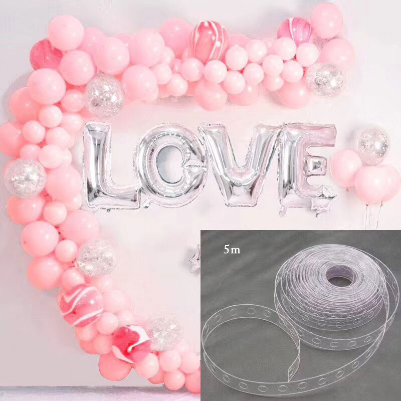 Balloon Attachment Glue Dot Attach Balloons Latex Balloon Chain To Ceiling Or Wall Stickers Birthday Party Wedding Supplies