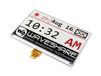 Waveshare 7.5inch E-Ink Raw Display 640x384 E-paper Three-color:Red Black White,SPI Interface,Without PCB, No Backlight