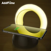 USB Rechargeable Touch Sensor Lamps LED Night Light Smart Table Lamp Night Lights QI Wireless Fast
