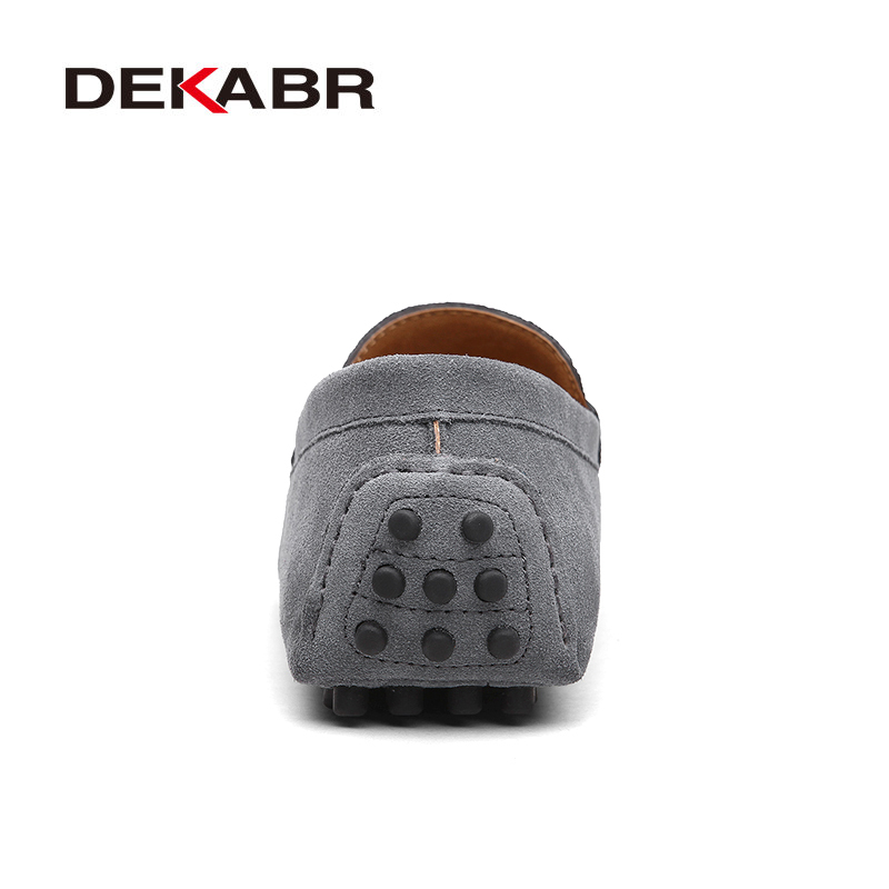 DEKABR Brand Fashion Summer Style Soft Moccasins Men Loafers High Quality Genuine Leather Shoes Men Flats DEKABR Brand Fashion Summer Style Soft Moccasins Men Loafers High Quality Genuine Leather Shoes Men Flats Gommino Driving Shoes
