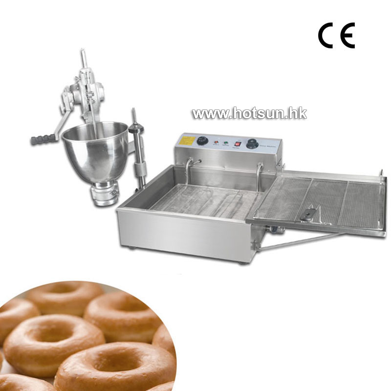 Commercial Manual Donut Doughnut Maker Machine and Electric Deep Fryer salter air fryer home high capacity multifunction no smoke chicken wings fries machine intelligent electric fryer