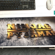 ninjas in pyjamas mouse pad 700x300x3mm pad to mouse notbook
