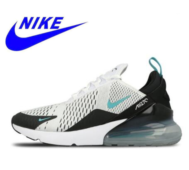 newest d19cb db6a3 Nike Air Max 270 180 Running Shoes White Sport Outdoor Comfortable  Breathable Cushioning Sneakers for Men AH8050-007