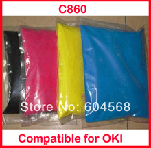 High quality color toner powder compatible for OKI C860 Free shipping