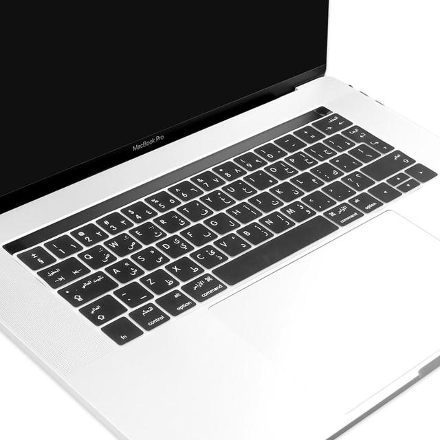 cheap for discount 2c739 3fe8c US $3.99 20% OFF|EU US Enter Arabic English for MacBook Pro 13 15 Retina  Touch Bar 2016 /2018 Silicone Keyboard Cover Sticker For A1989 A1707-in ...