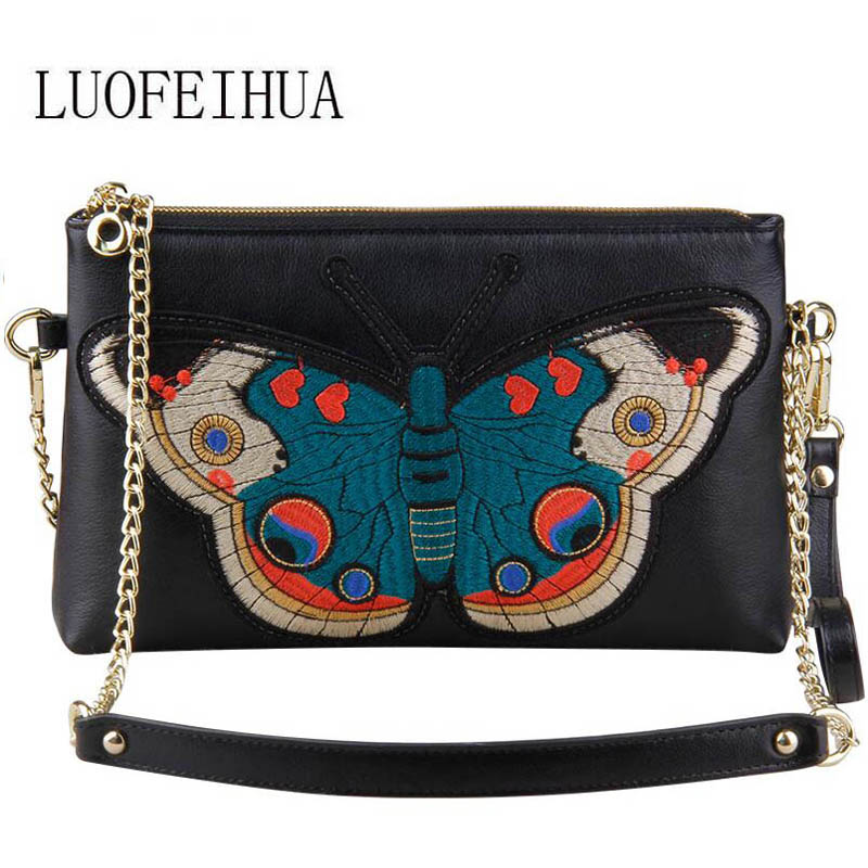 Genuine Leather women bags for women 2019 new luxury embroidered pouch shoulder messenger bag female Designer bagGenuine Leather women bags for women 2019 new luxury embroidered pouch shoulder messenger bag female Designer bag
