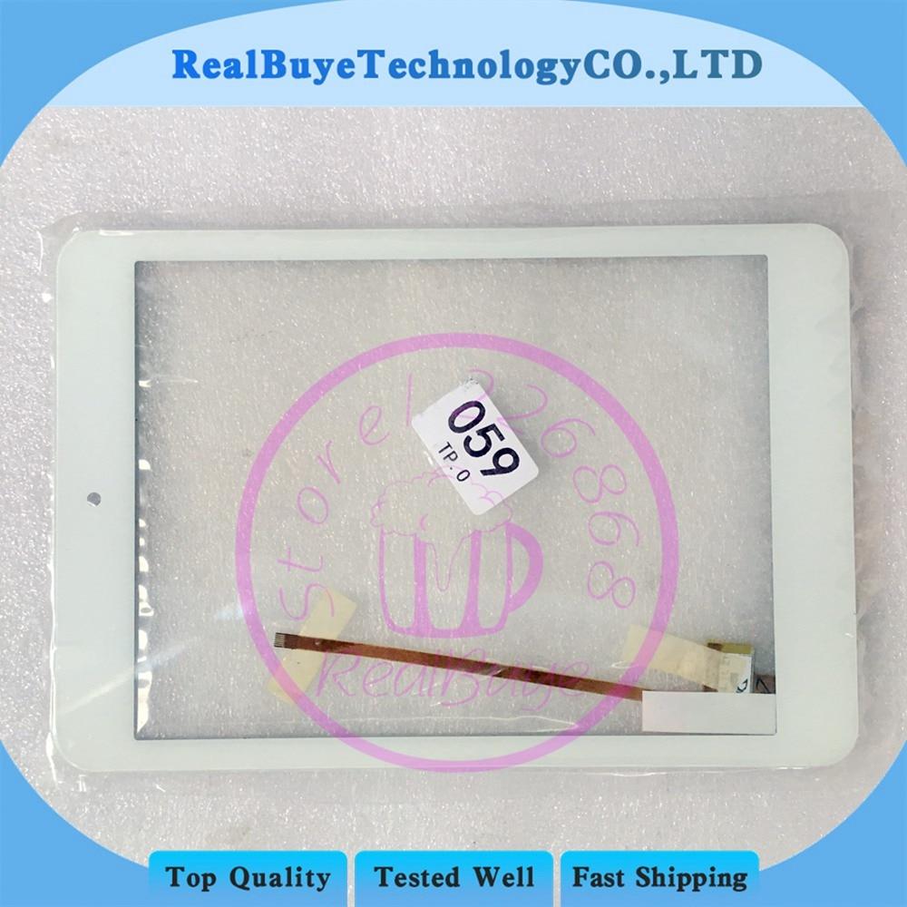 Repalce RS8F212_V2.0 Blanc Panneau de L'écran Tactile Digitizer Capteur En Verre de Code Aléatoire La Livraison