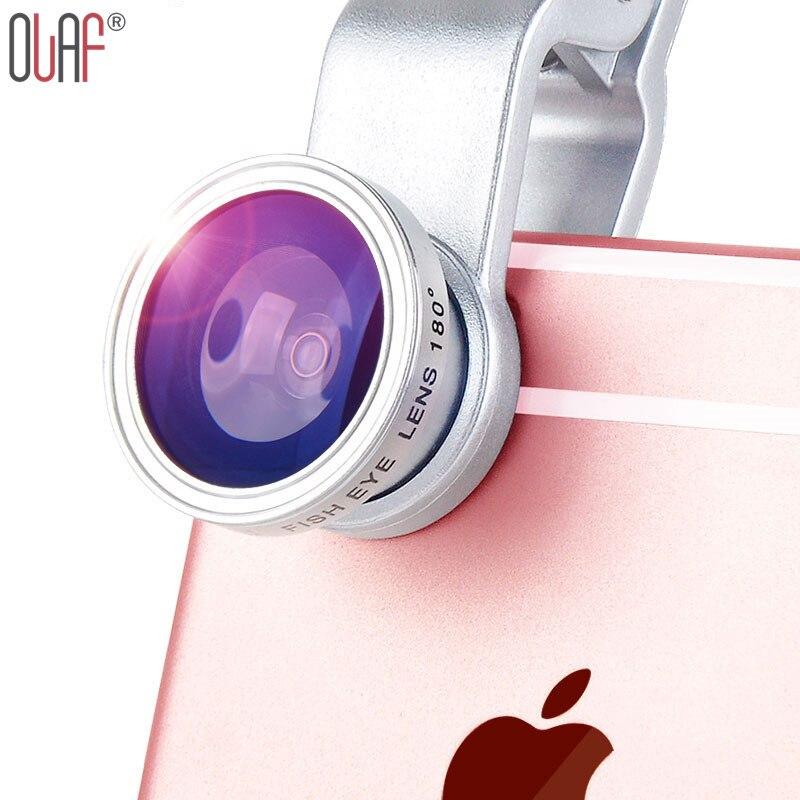 3 In 1 Mobile Phone Macro Fish Eye Lens Universal Wide