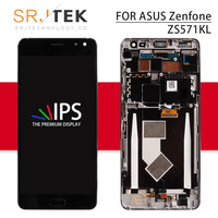 5.7'' For ASUS ZenFone AR ZS571KL LCD Touch Screen Digitizer Sensor Glass Assembly With Frame For ASUS ZenFone AR Display Screen