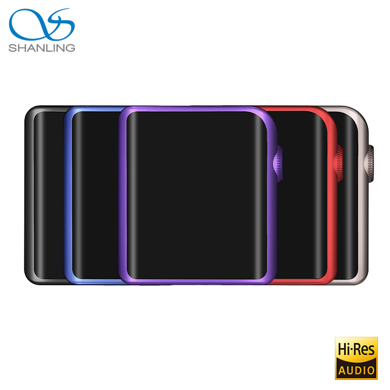 SHANLING M0 ES9218P 32bit/384 khz Bluetooth AptX LDAC DSD MP3 FALC Lecteur De Musique Portable Hi-res Audio avec Apt-x Livraison Gratuite