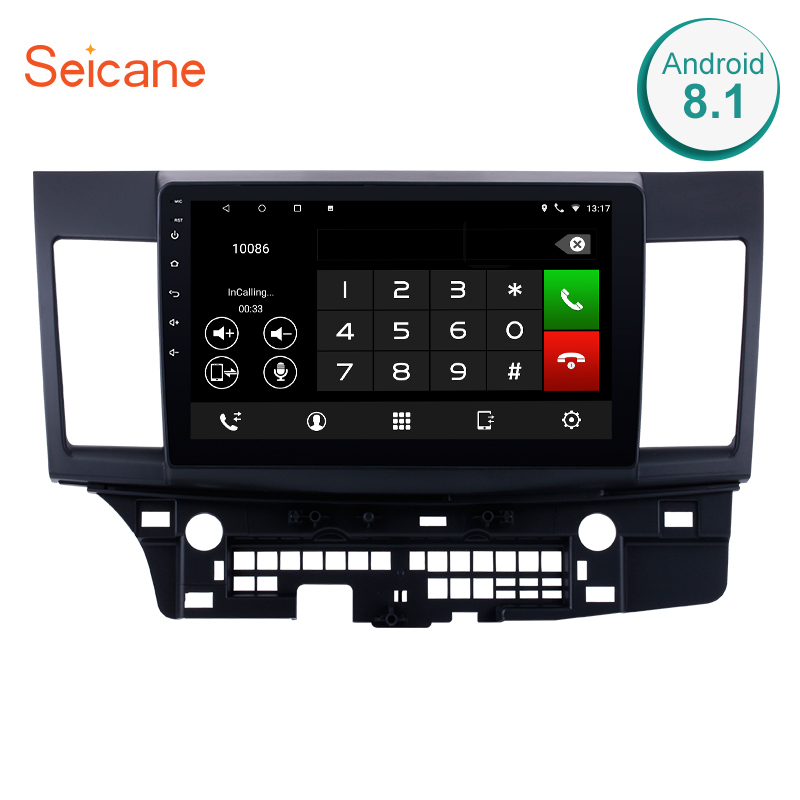 Seicane 2din 10 1 Android 8 1 7 1 font b Car b font Multimedia player