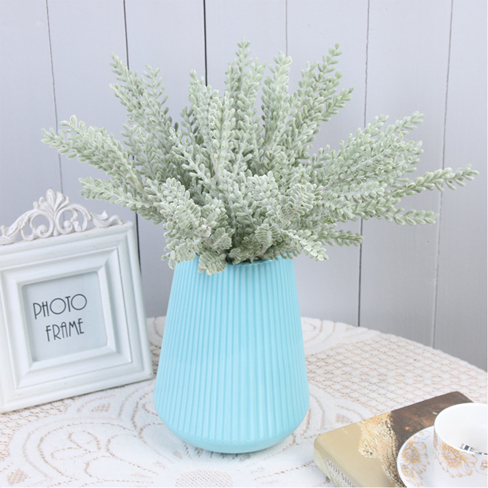 Artificial Plants Flowers Flocking Plants Succulents Fake Flowers Background Decoration Simulation Flocking Plant
