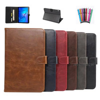 For Huawei MediaPad T3 10 Leather Magnetic Smart Solid Folding Cover Case For Huawei MediaPad T3