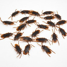 10pcs April Fool's Day whole person simulation bug false fake fake fly animal horror toy disgusting funny scary prop toy JM210 1pcs personality funny toy simulated chewing gum children scary toys terrorist cockroach april fool s day toy fast shipping