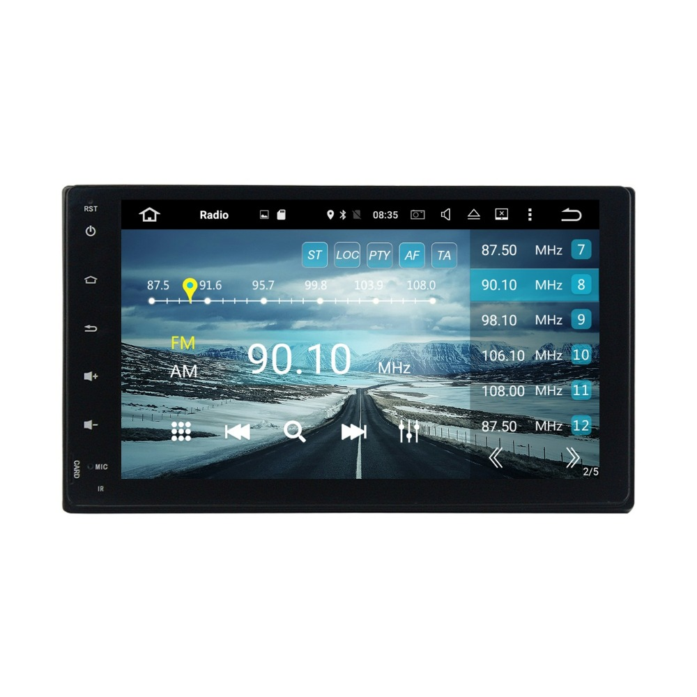 Octa Core 9 Android 6 0 Car DVD GPS for Toyota Fortuner 2016 2017 With 4GB