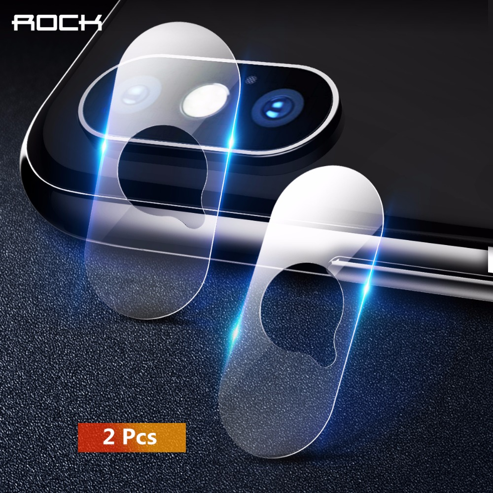 Rock 2Pcs Back Camera Lens Protector Tempered Glass For iPhone X Xs Xs Max Camera Lens Glass Film For iPhone 5.8/6.5 inch 2018 Зарядное устройство