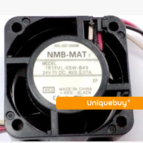 For NMB 4CM A90L-0001-0580#B 1611VL-05W-B49 24V FANUC fan the new fanuc fanuc a90l 0001 0443 r a90l 0001 0443 f spindle fan