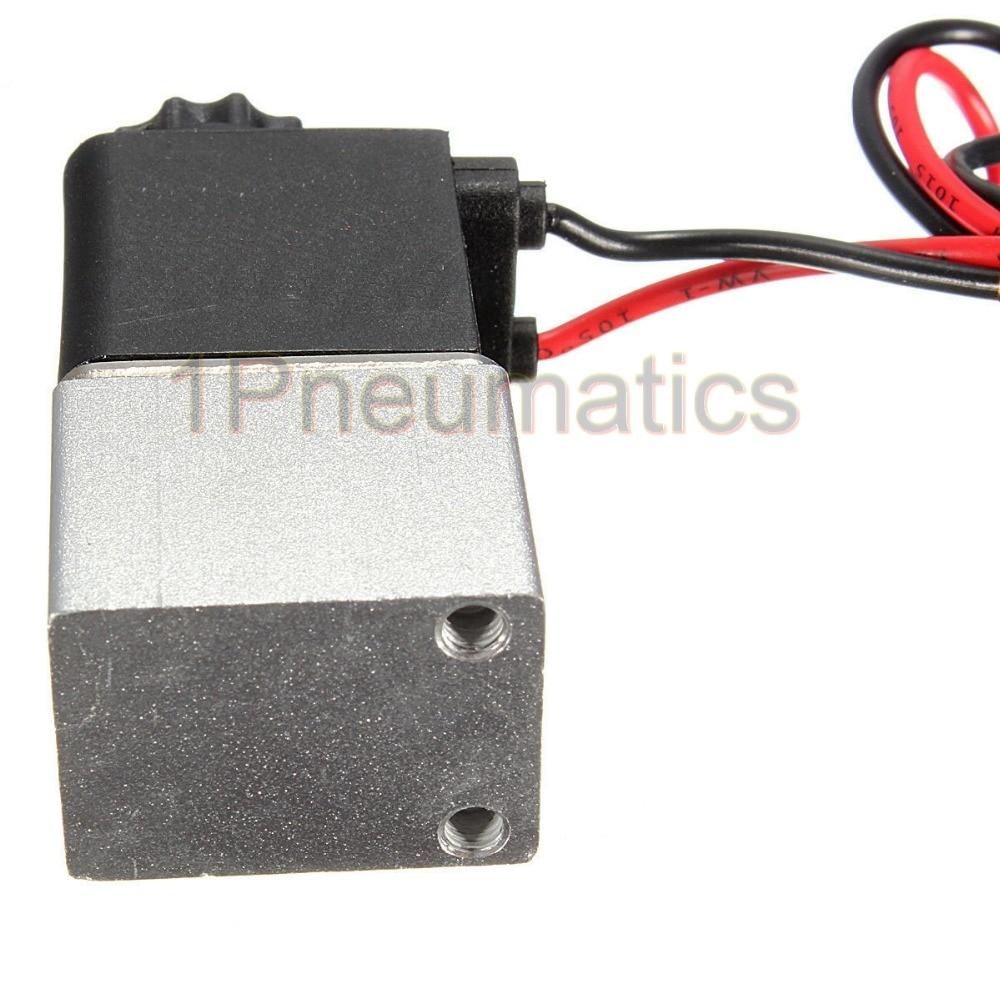 """Нормально закрытый электромагнитный клапан 2V025-06, работающего на постоянном токе 12 В в 1/"""" провод высокого качества для воды воздуха газовый баллон"""
