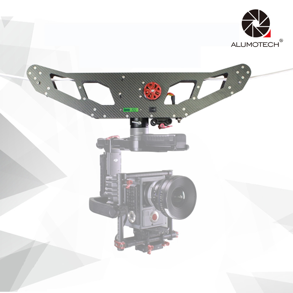 Carbon Fiber Cable Cam Kit Wireless Remote Compare With DJ MX Controller Video