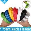 Fexible нить для 3D-принтера  100 г  1 75 мм  Гибкая нить для 3D-принтера  натуральный прозрачный