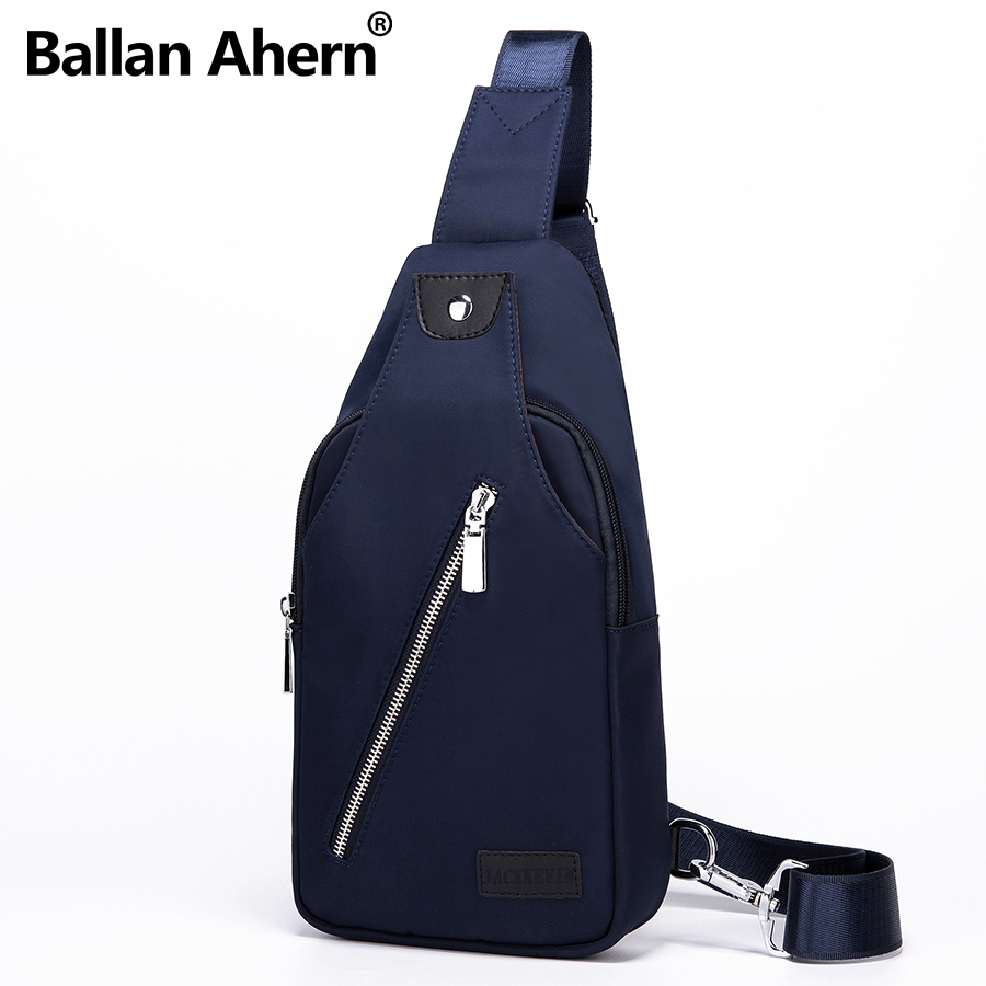 2017 Mens Waterproof Oxford Chest Bag Single Shoulder Cross Body Bag Travel Sling Rucksack Man Chest Back Pack Messenger Bags ...