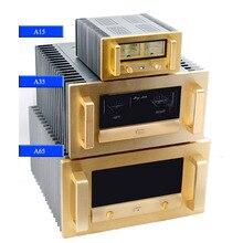 Com nível medidor amplificador chassis amplificador de potência caso BZ A15/a35/a65 (classe a dissipador de calor)
