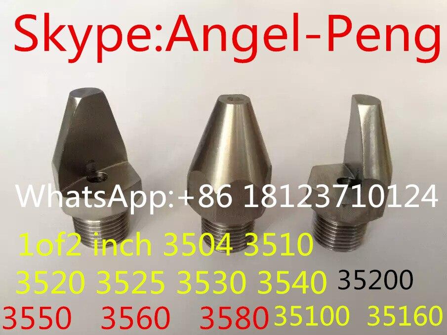Acheter Angle étroit à jet plat buse de pulvérisation 1/8