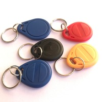 rfid rewritable 125khz overwrite T5577 Chip key fob (pack of 100)