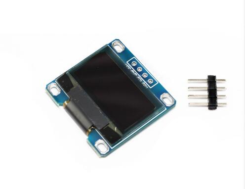 1pcs 4pin 0.96white 0.96 inch OLED module 128X64 OLED LCD LED Display Module For Arduino 0.96  IIC I2C Communicate Connector