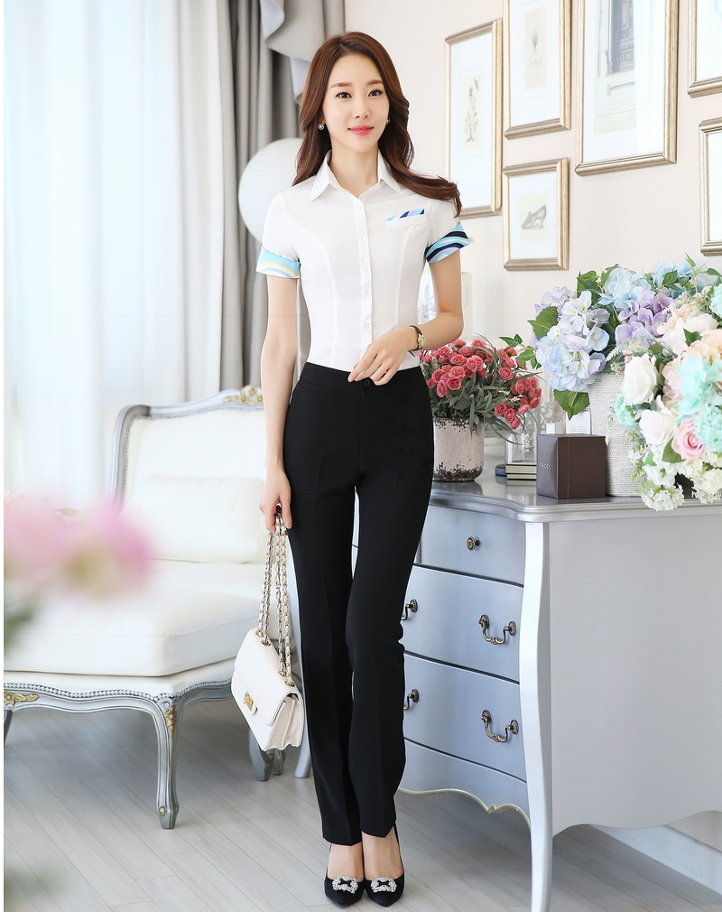 Popular Lady Pants and Blouse Design-Buy Cheap Lady Pants and ...