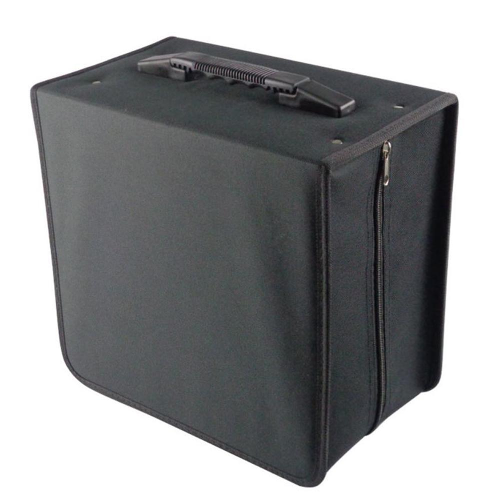 07947c77cfe6 Новый 500 диск Ткань Оксфорд CD Box DVD хранения Чехол Сумка Организатор  держатель