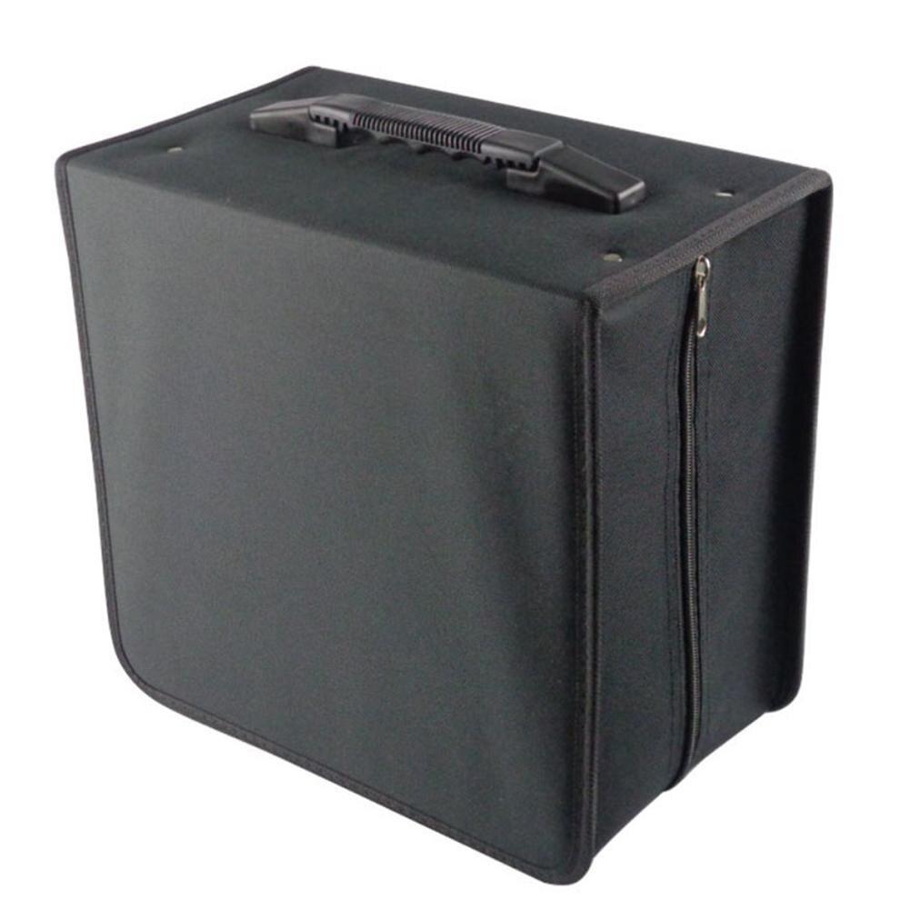 Nouveau 500 disque Oxford tissu CD boîte DVD mallette de rangement sac de transport support organisateur