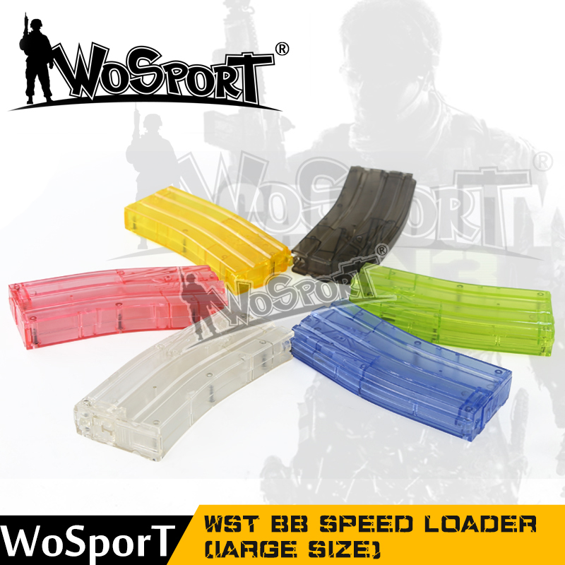 Paintball Plastic BB Speed Loader 500rd Colorful Small Tactical Military Airsoft Shooting War Games Combat Gun Game Hunting