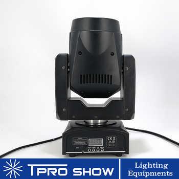 Mini Moving Head 90W Spot Lyre LED Disco Light Prism Beam Effect DMX512 Control Gobo Projector Dj Lights Moving Music Reaction