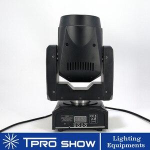 Image 2 - Mini cabezal móvil 90W Spot Lira LED Disco luz prisma efecto de haz DMX512 Control Gobo proyector Dj luces música en movimiento reacción