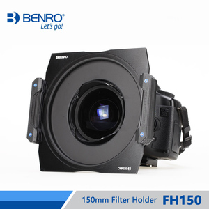 Image 4 - Benro FH150 150mm Filter System Holder ND/GND/CPL Professional Filter Holder Support For Camera Lens DHL Free Shipping